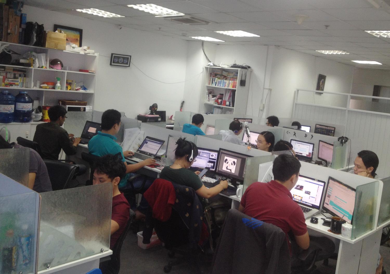 オフショアラボ開発サービス内容オフィス写真1
