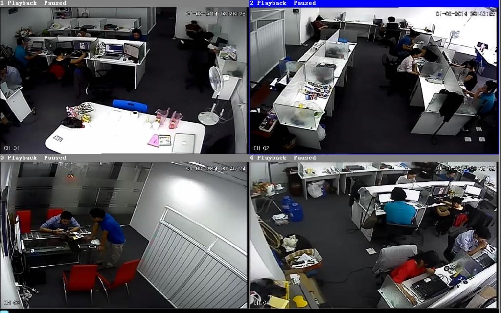 オフショア開発ラボ社内カメラPC