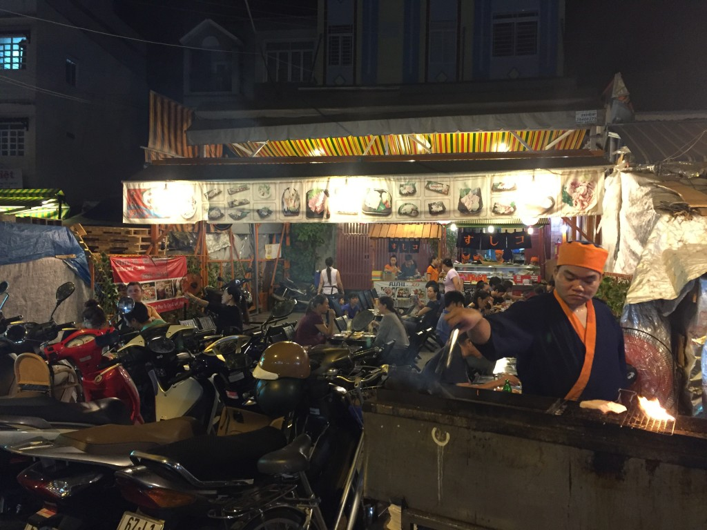 Ngày thường ở Việt Nam【Cửa hàng địa phương món ăn Nhật】